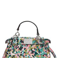 Fendi 'Micro Peekaboo - Granite' Leather Bag (Extra Small) | Nordstrom