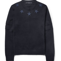 Givenchy - Embroidered-Star Sweater | MR PORTER