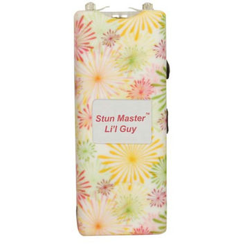 Stun Master Lil Guy 12,000,000 volts Flower Stun Gun W/flashlight and Nylon Holster