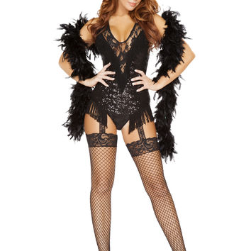 Roma Costume - 2pc 1920's Party Flapper Women's Costume