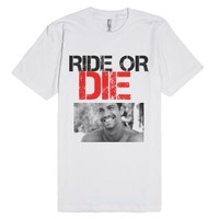 Paul Walker Tribute-Unisex White T-Shirt