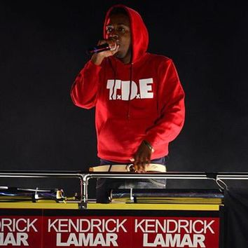 Kendrick Lamar T.D.E Top Dawg Entertainment Hoodie