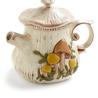 Vintage I Love it so Mushroom Teapot | Mod Retro Vintage Vintage Clothes | ModCloth.com