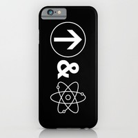 Up&Atom iPhone & iPod Case by Moop