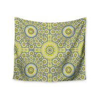 """Miranda Mol """"Multifaceted Flowers"""" Wall Tapestry"""