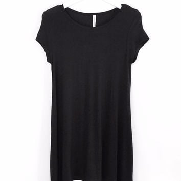 Minimalistic T-Shirt Dress