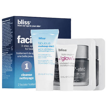 "Bliss ""Night Night"" Facial in a Box"