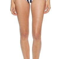 alice + olivia Empowered by A+O Stripe Thong