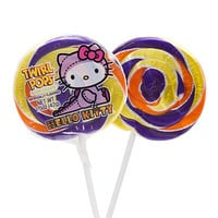 Hello Kitty Halloween Swirl 1.5-Ounce Twirl Pops: 24-Piece Display