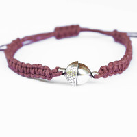 Acorn Friendship Bracelet