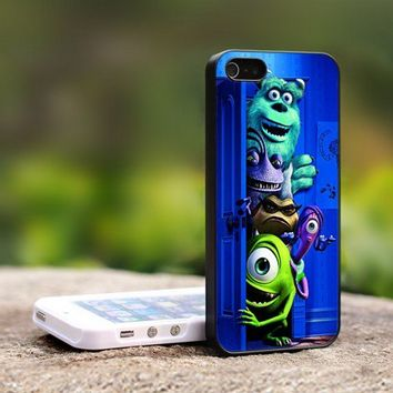 Monster Inc Disney Animation - For iPhone 5 Black Case Cover