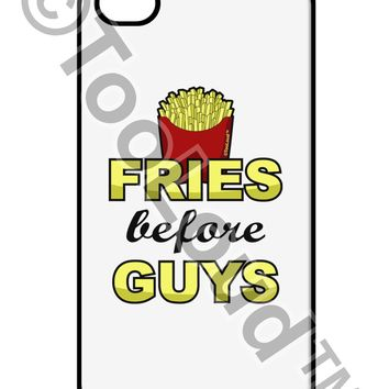 Fries Before Guys iPhone 4 / 4S Case  by TooLoud
