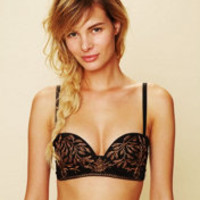Embroidered Bra at Free People Clothing Boutique