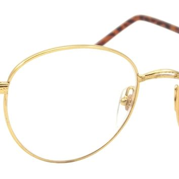 Retro Round Reading Glasses The Stakes Classic Style Metal Frame Readers