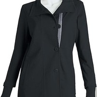 Buy Greys Anatomy Women's Two Pocket French Terry Scrub Jacket for $39.00