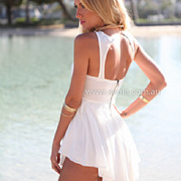 SWEETEST DREAMS PLAYSUIT , DRESSES, TOPS, BOTTOMS, JACKETS & JUMPERS, ACCESSORIES, $10 SPRING SALE, NEW ARRIVALS, PLAYSUIT, GIFT VOUCHER, $30 AND UNDER SALE, SWIMWEAR, SLEEP WEAR,,White,JUMPSUIT Australia, Queensland, Brisbane