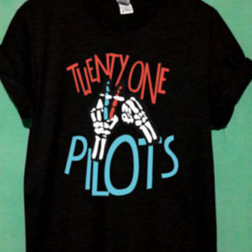 twenty one pilots shirt 21 pilots shirt new design t shirt unisex tshirt men shirt women shirt size S-XL