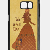 Beauty and The Beast Phone Case For Samsung Galaxy S7 case, B0003-3