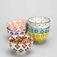 Floral Treat Bowls Set- Multi One