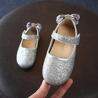ARLONEET Baby Shoes Girls Baby Girls Bowknot Sandals Sequins Sneaker Toddler Children Casual Shoes Mar28