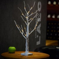 MUQGEW  LED Silver Birch Twig Tree Warm White Light White Branches Fairy Lights Unique Design 2017 Newest High Quality