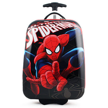 Spider-Man Polycarbonate Hard Shell Spinner Luggage Case