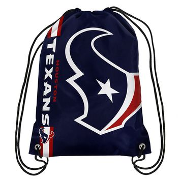 Houston Texans NFL Drawstring BackPack - SackPack ~ NEW!