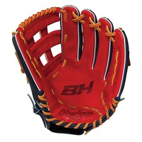 Rawlings Pro H Heart of the Hide Bryce Harper Series 12.75-in. Left Hand Throw Baseball Glove - Adult (Red)