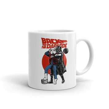 Back To The Future Star Wars Mash Up Coffee Cup Mug