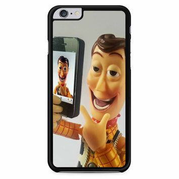 Disneyland Toy Story Woody Selfie iPhone 6 Plus / 6S Plus Case