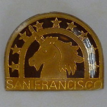 San Francisco Unicorn Pin