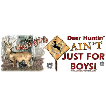 Deer Huntin A'int Just For Boys Coffee Mug by Dixie Outfitters®
