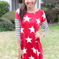 Liberty Dress - Red