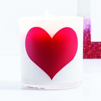 Heart Graphic Jar in Fairy's Dust Scent