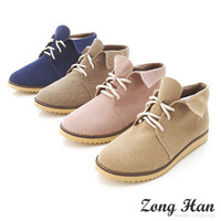 ♥♥ BN Women's Elegant Casual Oxford Lace Up Shoes Flat in 4 Color ♥♥