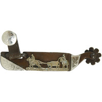 Antique Team Roping Spurs