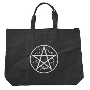 Devil Trap runes Supernatural Tote bags. Black or Natural color