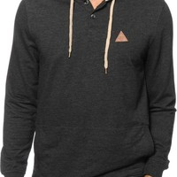 Dravus The Getaway Hooded Henley Shirt