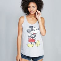 Mickey Mouse™ Racer Tank | Wet Seal