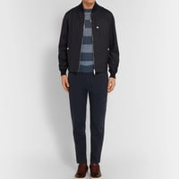 Brunello Cucinelli - Striped Cable-Knit Linen and Cotton-Blend Sweater