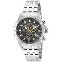 Invicta Men's 17502 Specialty Quartz Chronograph Black Dial Watch