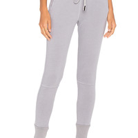 Stateside French Terry Jogger in Silver | REVOLVE