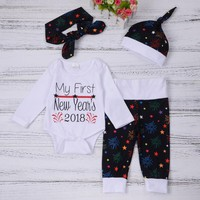 Baby Girls Boys Newborn  Christmas Outfits Clothes