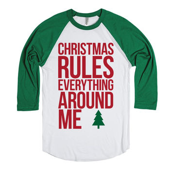 Christmas Rules Everything Around Me CREAM Parody Shirt
