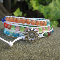 Joyful Triple Wrap Bracelet