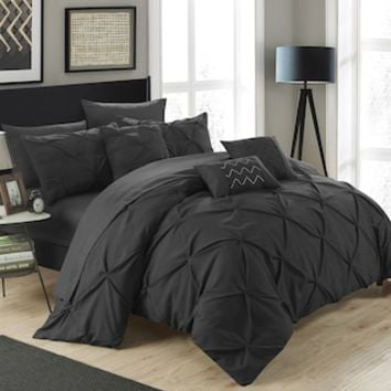 Chic Home Hannah 10-piece Bedding Set | null