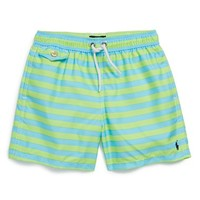 Boy's Ralph Lauren 'Traveler' Swim Trunks