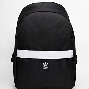 adidas Originals Backpack with Contrast Zip at asos.com