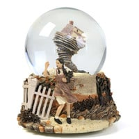 San Francisco Music Box The Wizard of Oz Tornado Water Globe
