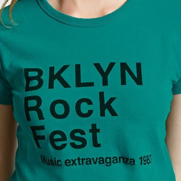 Bklyn Rock Fest Graphic Tee